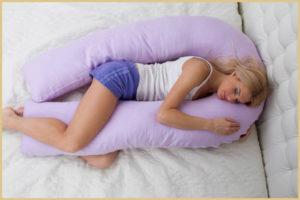 Подушка для беременных собственноручно