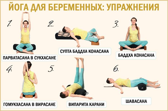 Комплекс упражнений: Йога для беременных