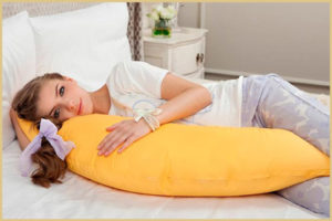 Шьем подушку для беременных своими руками
