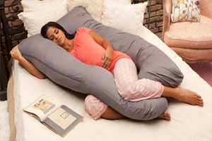 Подушка для сна беременных