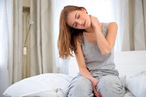 Болевой синдром в области шеи по утрам после сна
