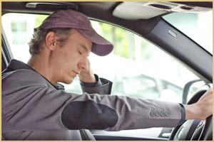 Сонливость в машине