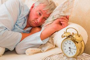 Расстройство сна у людей преклонного возраста
