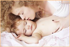 Разбудить ребенка