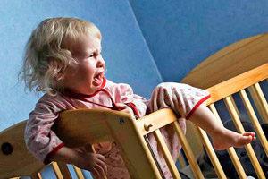 Беспокойный сон у малыша в полтора года