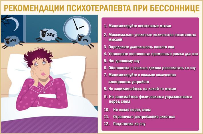 Бессонница и проблемы со сном: психотерапевтическая помощь
