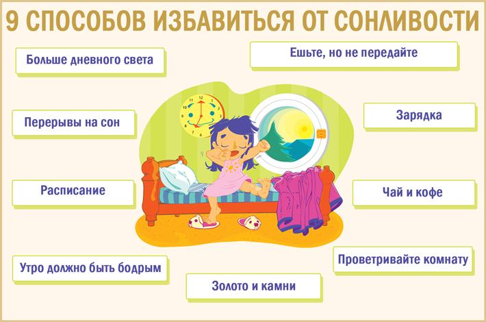 Как побороть сонливость: 9 эффективных способов