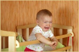 Бессонница у детей: основные причины