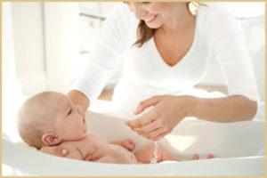 Купание новорожденного в травах