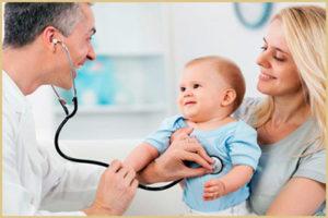 Медицинское наблюдение детей первого года жизни