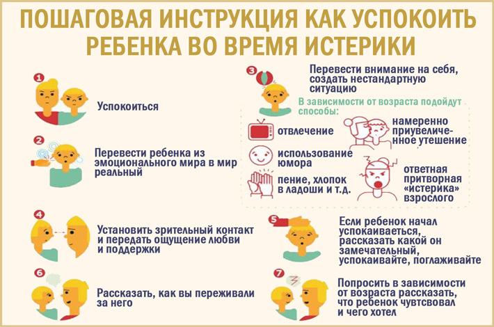 Как успокоить ребенка: пошаговая инструкция