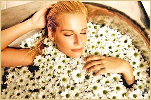 Принять ванну с травами