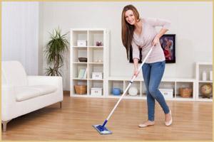 Вымыть полы