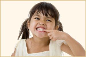 Скрежет зубами у детей