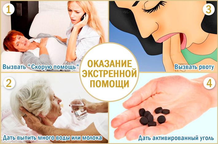 Помощь при передозировке лекарствами
