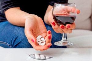 Совмещение спиртного и снотворных средств