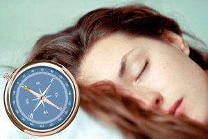 Южное направление для сна