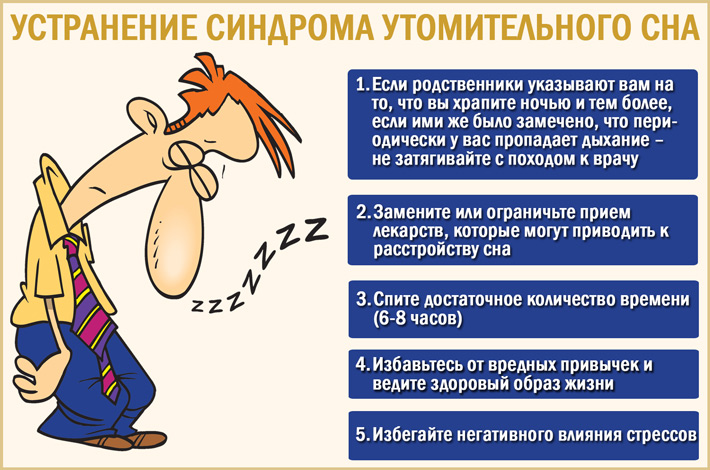 Как побороть синдром утомительного сна?