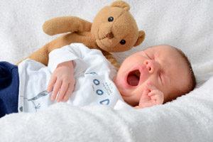 Нарушение сна у детей от 0 до 4 недель
