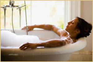 Бессонница. Лечебные ванны
