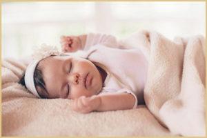 Режим ночного сна для малыша