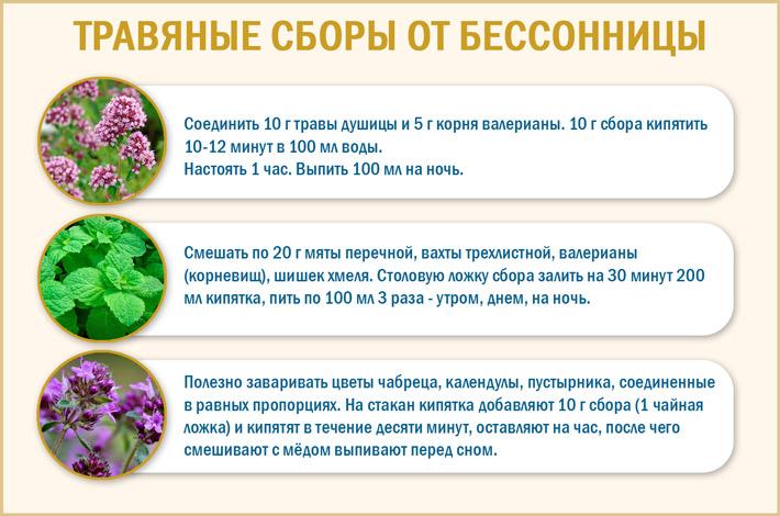 Рецепты от бессонницы