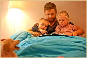 Почитать сказку перед сном