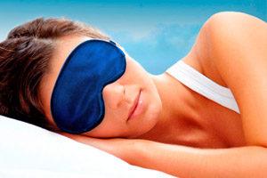 Маска на глаза для комфортного отдыха в любых условиях