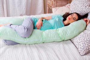 Боковая поза для сна при беременности
