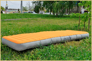 Марка надувного матраса Super Tough Airbed