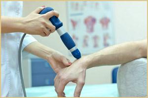 Лечение болей рук лазером