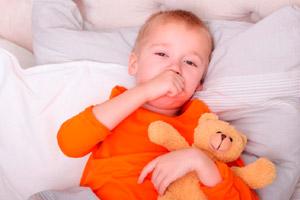 Сильный кашель во сне у ребенка