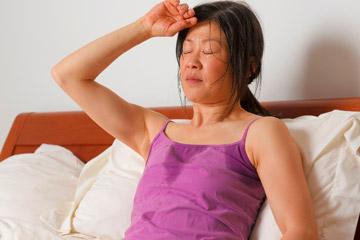 Обильное ночное потоотделение у женщин