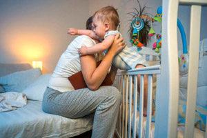 Ребенок устраивает бессонную ночь