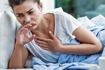 Приступы ночного сухого кашля у взрослых