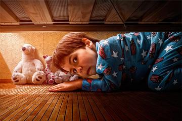 Детские ночные страхи: что делать