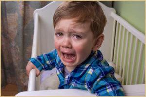 Истерики перед сном у ребенка
