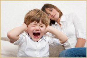 Истерики у ребенка признаки
