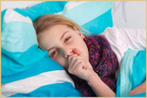Ночной кашель у ребенка: как снять приступ