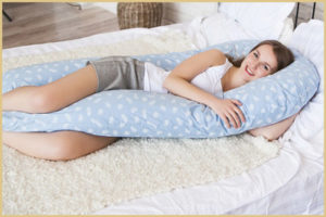 Подушка-трансформер для беременной женщины