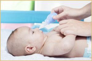 Лечение храпа у новорожденного