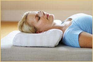 Подушка от храпа ортопедическая